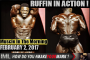 RUFFIN IN ACTION! - Muscle In The Morning February 2, 2017
