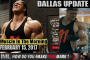 DALLAS MCCARVER UPDATE! - Muscle In The Morning February 15, 2017