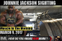 JOHNNIE JACKSON SIGHTING! - Muscle In The Morning March 9, 2017