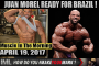 JUAN MOREL READY FOR BRAZIL! - Muscle In The Morning April 19, 2017