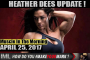 HEATHER DEES UPDATE  - Muscle In The Morning April 25, 2017