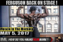 FERGUSON BACK ON STAGE!- Muscle In The Morning May 5, 2017