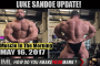 LUKE SANDOE UPDATE! - Muscle In The Morning May 16, 2017