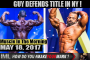 GUY DEFENDS TITLE IN NY! - Muscle In The Morning May 18, 2017