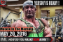 YERSKY IS READY! Muscle In The Morning May 20, 2016