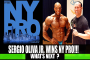 Sergio Oliva Jr After Winning 2017 New York Pro!
