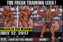 THE FREAK TRAINING LEGS ! - Muscle In The Morning July 12, 2017