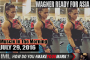 WAGNER READY FOR ASIA! - Muscle In The Morning July 29, 2016
