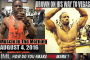 BROWN ON HIS WAY TO VEGAS! - Muscle In The Morning August 4, 2016