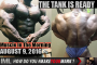THE TANK IS READY! - Muscle In The Morning August 9, 2016