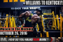 WILLIAMS TO KENTUCKY! - Muscle In The Morning October 26, 2016