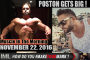 POSTON GETS BIG! - Muscle In The Morning November 22, 2016