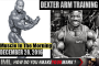 DEXTER ARM TRAINING! - Muscle In The Morning December 28, 2016