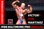 2016 IFBB Baltimore Pro Results & Stage Videos