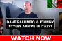 Dave Palumbo Arrives in BEAUTIFUL Italy!