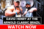 David Henry at the Arnold Classic Brazil (Powered by Yamamoto Nutrition)