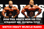 How Phil Heath Won 2017 Mr. Olympia | Heavy Muscle Radio (Video)