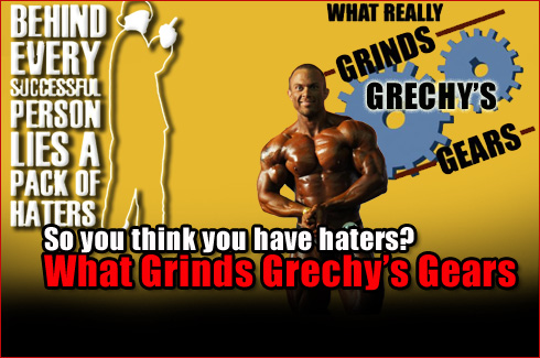 What grinds grechys gears haters
