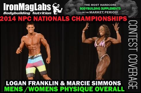 The Nationals Men's Physique Division Pictures and Top 5 Results