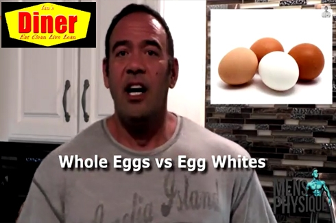 Ian's Diner Versus Series: Eggs vs Egg Whites