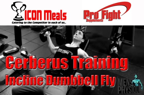 The Cerberus Training Series # 4 Incline Dumbbell Bench Press