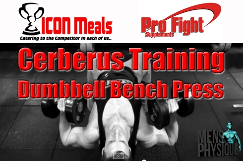 The Cerberus Training Series #7 Dumbbell Bench Press