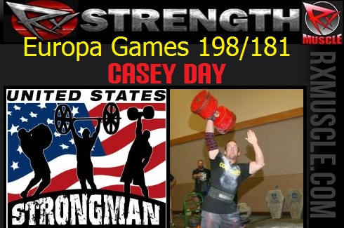 United States Strongman Europa Games 198/181