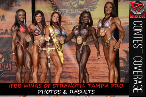 IFBB Tampa Pro Women's Photos & Results