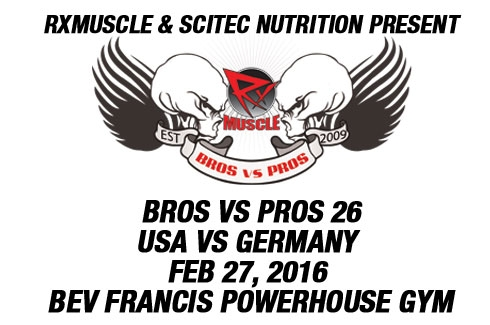 Bros V Pros 26 USA v Germany