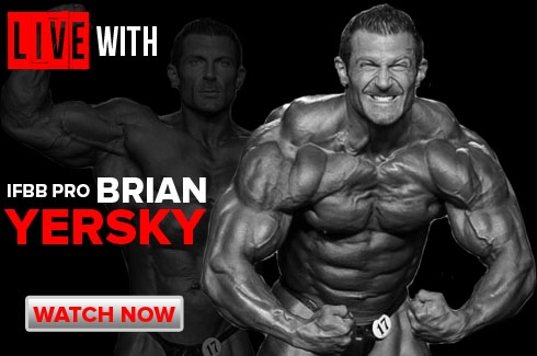 LIVE WITH Brian Yersky!