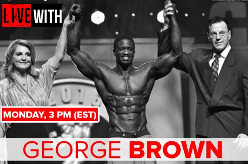 LIVE WITH George Brown - 5/16/16 @ 3pm EST!