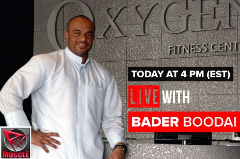 LIVE WITH Bader Boodai! 5/19/16 @ 4pm EST!
