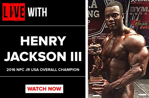 LIVE WITH Henry Jackson