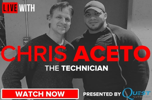 Live With Chris Aceto
