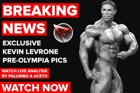 Exclusive Levrone