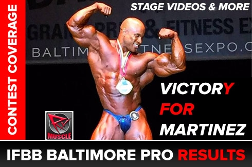 IFBB Baltimore Pro Results