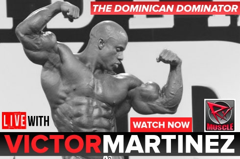 Live WIth: IFBB Pro Victor Martinez