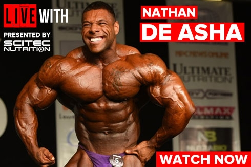 Live with Nathan De Asha