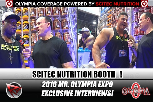 Olympia Coverage!