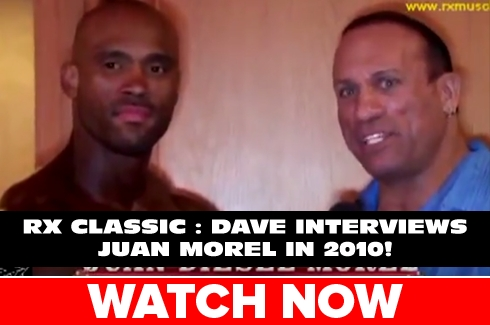 RX Classic : Juan Morel Interview (2010)