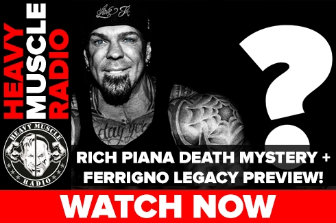 HMR Rich Piana Death Mystery