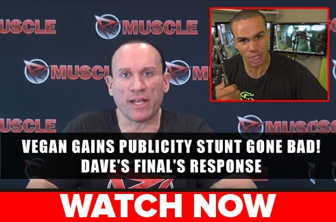 Dave's final resonse to Vegan Gains