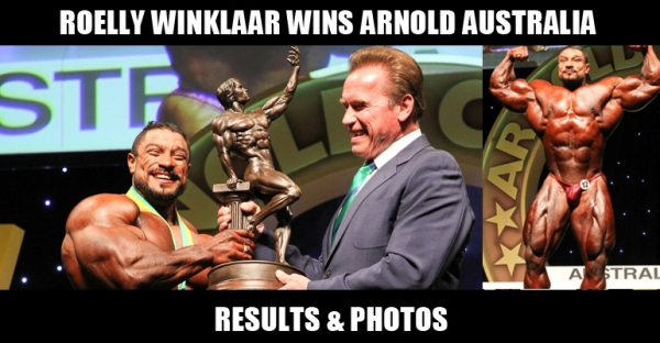 Roelly Wins Arnold Australia