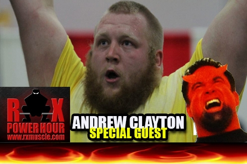 Andrew Clayton Joins the Show!