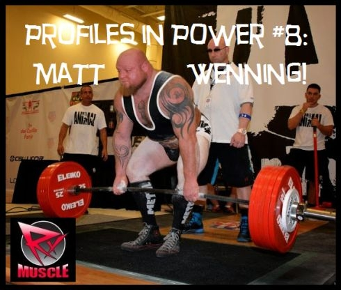 Profiles in Power #8: Matt Wenning!