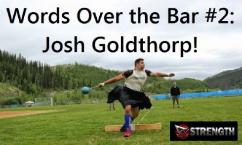 Words Over the Bar #2: Josh Goldthorp!