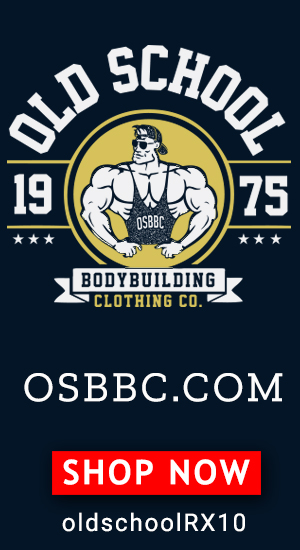 Check out Old School Bodybuilding Clothing