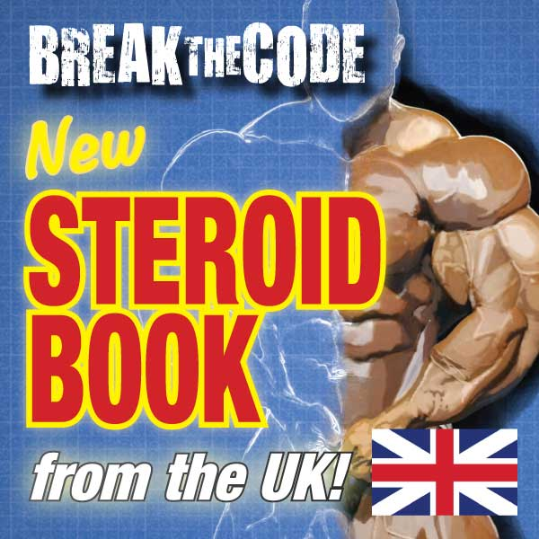 Break the Code Steroid Book