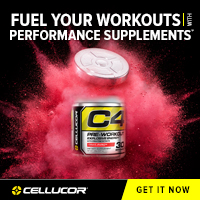Best Pre-Workout C4 by Cellucor