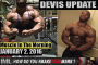 DEVIS UPDATE! - Muscle In The Morning January 2, 2017